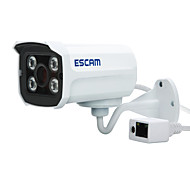 ESCAM Brick QD300 IP Camera  1.0 MP 720P  Bullet Outdoor with Day NightWaterproof / Motion Detection / Dual Stream / Remote Access / IR-cut/Onvif
