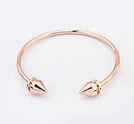 Fashion Cuff Bracelet Punk Style Casual Jewelry Gift Gold / Silver