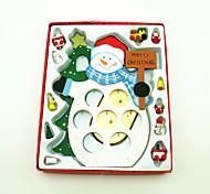 Papai Noel de madeira artigos de decoração de mesa diy