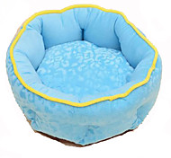 Dog Bed Pet Blankets Breathable Blue Cotton
