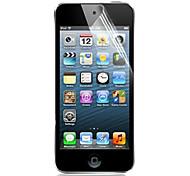 [6-Pack] высокая прозрачность ЖК кристально чистое протектор с Ткань для очистки Ipod Touch 5 экраном
