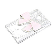 For LG Case Case Cover Rhinestone Transparent Back Cover Case Glitter Shine Hard PC for LG Other