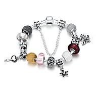 Bracelet Chaînes & Bracelets Charmes pour Bracelets Bracelets Rigides Alliage Plaqué argentGland Mode Bohemia style Style Punk