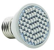 4W E26/E27 LED Grow Lights 60 SMD 3528 360-430 lm Red Blue Waterproof AC85-265 V 1 pcs