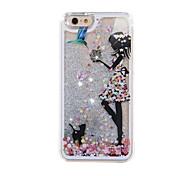 schilderij drijfzand telefoon Case voor iPhone 6 plus