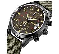 Men's Sport Watch Military Watch Dress Watch Fashion Watch Wrist watch Calendar Swiss Designer Quartz Digital Genuine Leather BandVintage