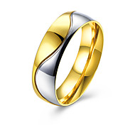 Ring Jewelry Steel Golden Jewelry Casual 1pc