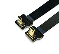 CY® Micro HDMI-Micro HDMI Chapado en Oro Cable 1080P 0,5m (1.5ft)