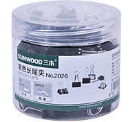 Sunwood® 2026 15 Mm Color Long Tail Clip 60Pcs/Set