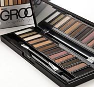 New arrival 12 Colors Set Women Makeup Eyeshadow Palette Eyebrow Eye Shadow Powder Cosmetic