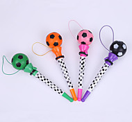 Creative Plastic Football Decal Penholder Bounce BallPoint Pen