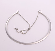 Bracelet Chain Bracelet Sterling Silver Others Nature Gift Jewelry Gift Silver,1pc