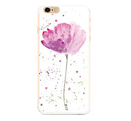 Cute Cartoon  pattern transparent tpu soft Cover case For Apple iPhone iPhone 6S Plus/6 Plus Case