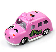 Race Car Toys Car Toys 1:60 Metal Plastic Pink Model & Building Toy