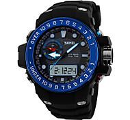 Men's Women's Unisex Sport Watch Dress Watch Fashion Watch Wrist watch Calendar Quartz Silicone Band Charm Casual Multi-Colored
