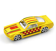 Race Car Toys Car Toys 1:64 Metal Plastic Yellow Model & Building Toy