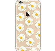 Назначение iPhone 8 iPhone 8 Plus iPhone 7 iPhone 7 Plus iPhone 6 Чехлы панели Ультратонкий С узором Задняя крышка Кейс для Цветы Мягкий