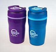 China Manufacturer Drinking Plastic Bottle 400ml BPA Free