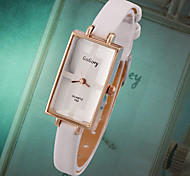 GoGoey Han Edition Fashion Square Super Thin Rose Gold Ladies Fashion Watches