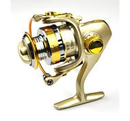 Carretes para pesca spinning 5.2:1 13 Rodamientos de bolas Intercambiable Pesca de Mar Pesca de agua dulce-DC150 FDDL