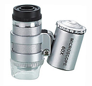 Microscopes Novelty Toy Metal 60 Times Then Carry Multi-Function Mini Microscope Magnification