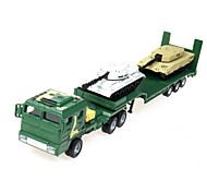 Military Vehicle Toys Car Toys 1:60 Metal ABS Plastic Green Model & Building Toy