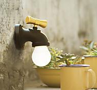 новый творческий USB перезаряжаемые интеллектуальное управление голосом водить античный смеситель крана свет ночи домашний светильник 2-х