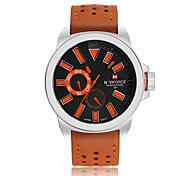 NAVIFORCE 9064 Fashion Leisure Multi-Functional Waterproof Quartz Watch