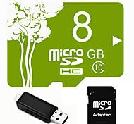Outro 8GB MicroSD Classe 6 15 Outro Leitor de Cartão Tudo-em-Um Leitor de Cartão Micro SD Leitor de Cartão SD USB 2.0