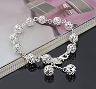 Bracelet Strand Bracelet Silver Plated Others Fashion Gift Jewelry Gift Silver1pc