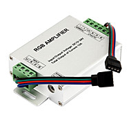 RGB Signal Amplifier Repeater for 10m / 32.8ft 4 Pin RBG 5050 3528 LED Strip Lights  12V to 24V 12A DC