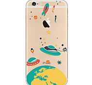 For iPhone 7 Case iPhone 7 Plus Case iPhone 6 Case Case Cover Ultra-thin Pattern Back Cover Case Cartoon Soft TPU for AppleiPhone 7 Plus
