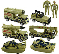 Military Vehicle Pull Back Vehicles Car Toys 1:20 ABS Green Model & Building Toy