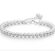 Strand Bracelet Silver Plated Fashion Jewelry Silver Jewelry 1pc
