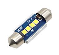 2x-festoon-31mm-4-smd-3030-cnabus-white-led-car-dome-light-lamp-bulbs-3021-6428-de3175 12-24v