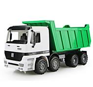 Camión de bomberos Vehículos de tracción trasera Juguetes de coches 1:12 Metal Plástico Verde Modelismo y Construcción