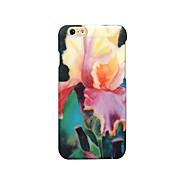 Para Congelada En Relieve Diseños Funda Cubierta Trasera Funda Flor Dura Policarbonato para Apple iPhone 7