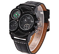 Walking Oulm Dual Personality Fashion Quartz Watch