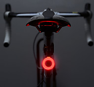 Bike Lights Rear Light LED Cycling Outdoor Creative High-brightness Safety Warning Taillight IPX6 Waterproof 5 Modes Mountain Tail Night Seat Back