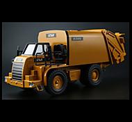 Vehículo de construcción Vehículos de tracción trasera Juguetes de coches 1:10 Metal Plástico Amarillo Modelismo y Construcción
