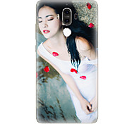 For Pattern Case Back Cover Case Sexy Lady Soft TPU for Huawei Huawei Mate 9 Huawei Mate 8
