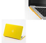 """сплошные цвета матовый полный тела трудный случай с вилкой для пыли MacBook Air 13.3 """"(ассорти цветов)"""