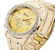 Table 521 diamond bracelet with stainless steel watch Geneva GENEVA alloy