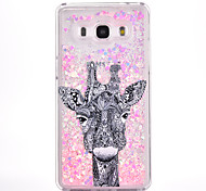 For Samsung Galaxy G530 Case Cover Deer Pattern Small Fresh Series PC Material Love Quicksand Flash Powder Phone Case