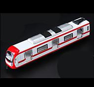 Tren Vehículos de tracción trasera Juguetes de coches 1:10 Metal Plástico Rojo Modelismo y Construcción