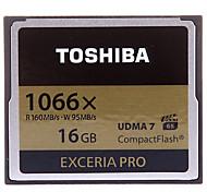 Toshiba 16GB Compact Flash  CF Card cartão de memória EXCERIA PRO 1066X UDMA7
