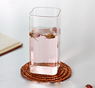 Transparent Drinkware Decoration Glass Juice Milk Tea Cup