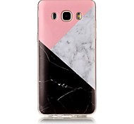 For Samsung Galaxy J7 J5 Case Cover Marble High - Definition Pattern TPU Material IMD Technology Soft Package Mobile Phone Case  J3 (2016) G530