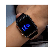 Men Women Sport Watch Digital Watch Digital / Plastic Band Vintage Black