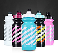 Sports Drinkware, 600 ml  Leak-proof Plastic Cycling Water Bottle